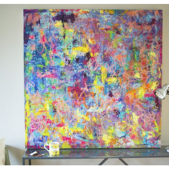 """Image of Spring Vibes Painting - 48"""" x 48"""""""