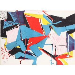 "Jasha Green, ""Untitled 21,"" Lithograph"