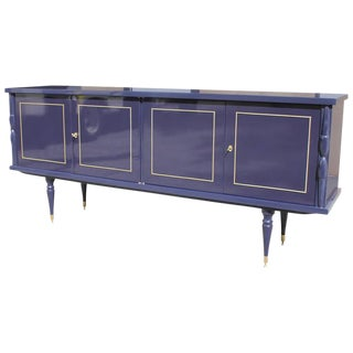 1940 French Art Deco Lacquered Sideboard