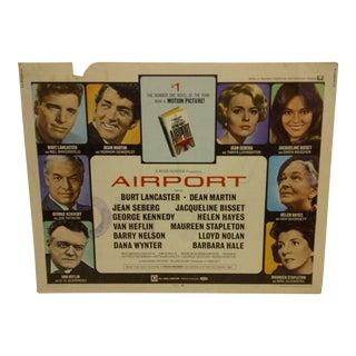 "1970 Vintage Movie Poster of ""Airport"""