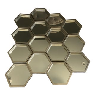 Regina Andrew Design Bee Hive Mirrors - Set of 15