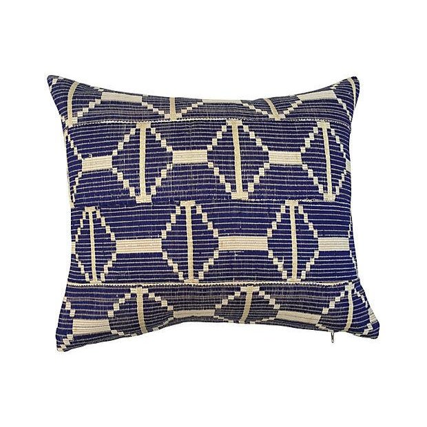 Image of Woven African Textile Pillows - S/3