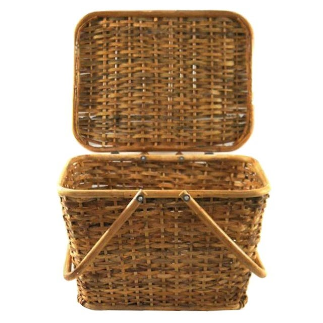 Vintage Picnic Basket - Image 1 of 2