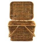 Image of Vintage Picnic Basket