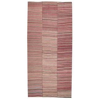 Colorful Striped Kilim