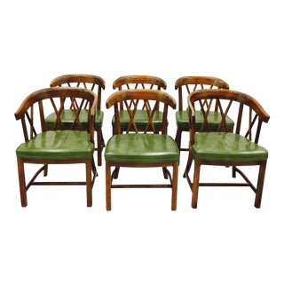 Vintage Dining Room Chairs - Set of 6