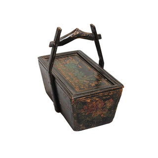 Vintage Asian Wooden Box