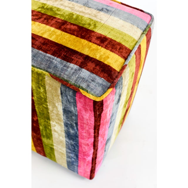 Image of Candy-Colored Pouf Ottoman