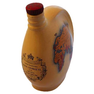 King George VI Coronation Wine Decanter