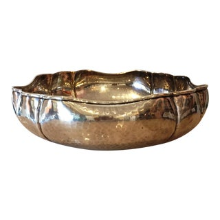 Modern Silverplated Italian Bowl