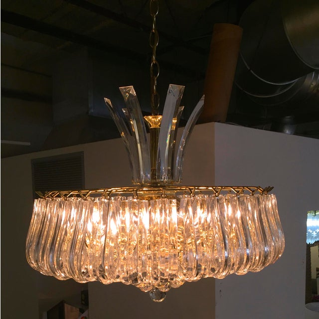 Triarch Lucite Chandelier Image 5 Of 6