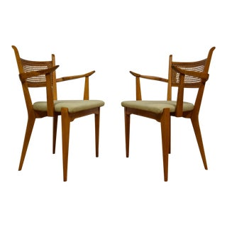 Edmund Spence Dining Arm Chairs - A Pair
