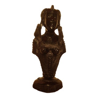 African Beauty Figurine