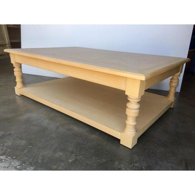 Alder Wood Coffee Table Chairish
