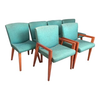 Vintage Used Brown Dining Chairs Chairish
