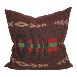 Earth Tone Pendleton Pillow