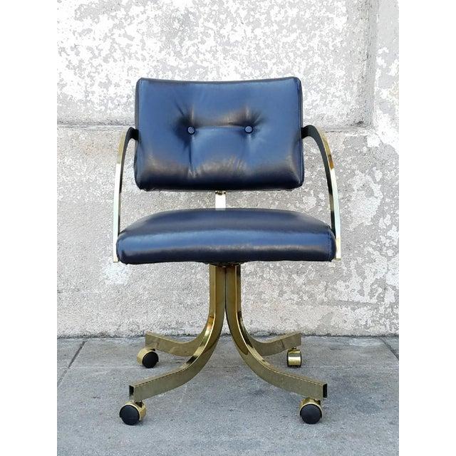 Vintage Milo Baughman Office Chair - Image 2 of 5