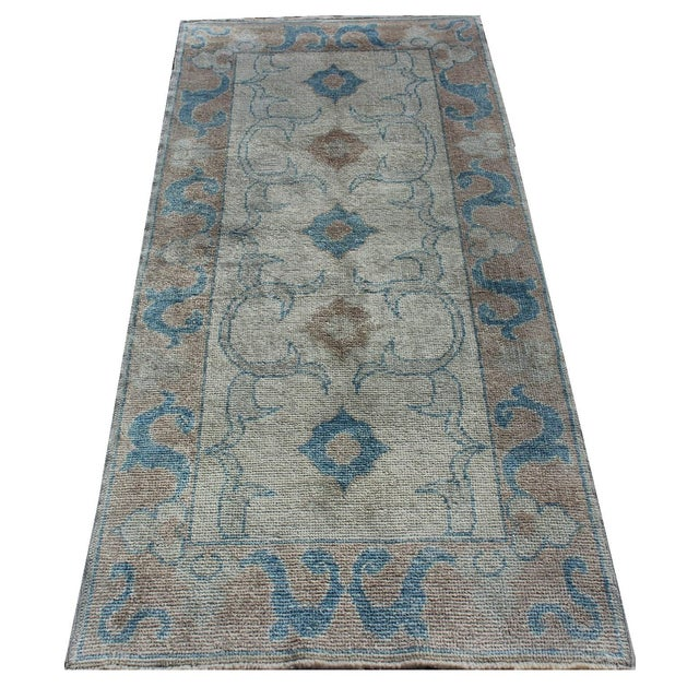 Image of Turkish Oushak Rug Runner