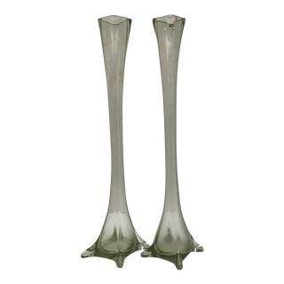 Italian Murano Vases - A Pair
