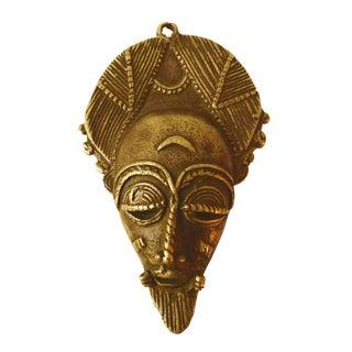 African Baule Gold Weight Passport Mask