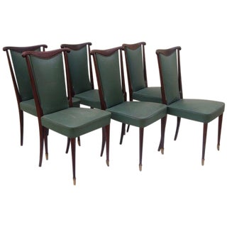 Paolo Buffa Dining Chairs - Set of 8