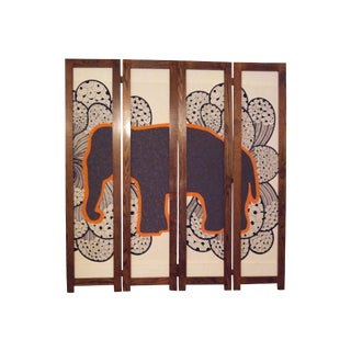 Elephant in the Room Divider