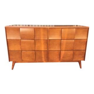 Heywood-Wakefield Sculpted Handle Dresser