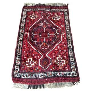 "Vintage Tribal Persian Rug - 3'7"" x 5'7"""