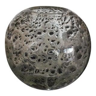 Decorative Round Art Glass Vase