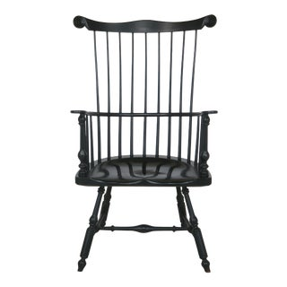 Saybolt Cleland Green Painted Comb Back Windsor Chair