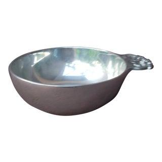 Nambe Metal Serving Bowl