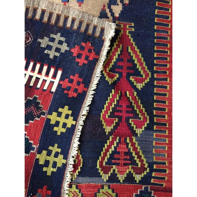 Image of Vintage Turkish Prayer Kilim 4' X 6'