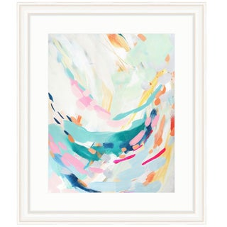 Britt Bass Turner Swoop Abstract Framed Art Print