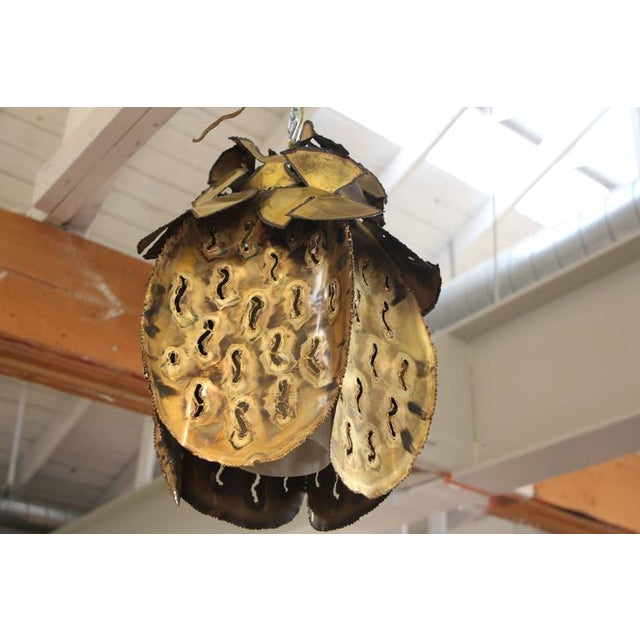 Image of Tom Greene Brutalist Pendant Chandelier
