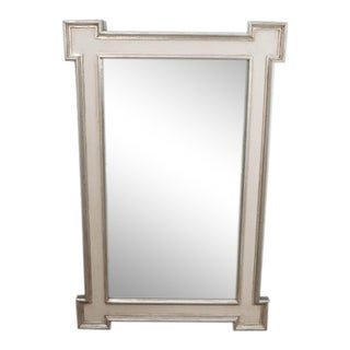 A Painted and Silvered Mirror