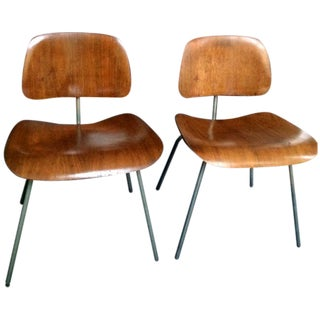 1946 Charles Eames DCW Dining Chairs - A Pair
