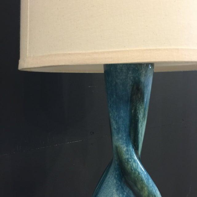 Image of Mid Century Ceramic Glazed Lamp
