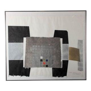 "Ruth Eckstein ""Kohmas: The Treasury"" Collage"