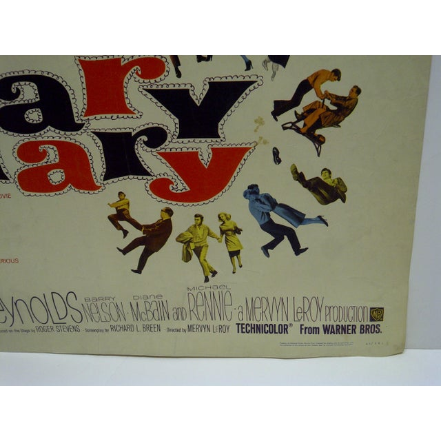 Vintage Movie Poster 'Mary Mary' - Image 4 of 4
