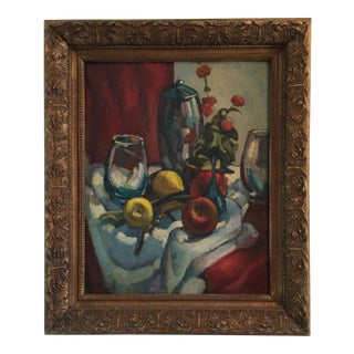David Hatfield Mid-Century Still Life Oil Painting