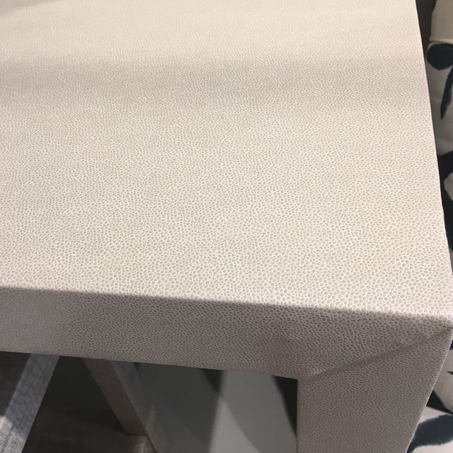 Upholstered Celine Parsons Table - Image 6 of 9
