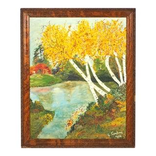 1966 Landscape Oil Painting