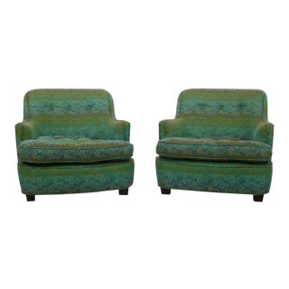 Diminutive Edward Wormley Dunbar Club Chairs