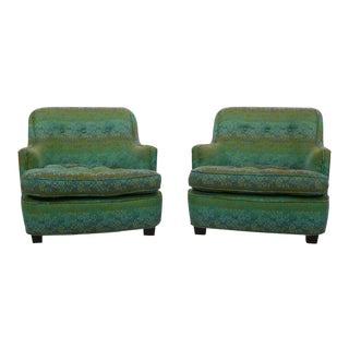 Diminutive Edward Wormley Dunbar Club Chairs