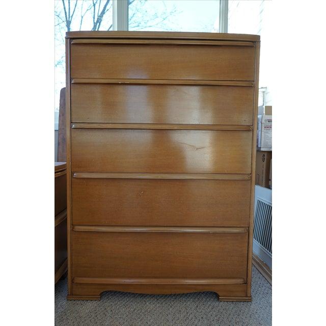 Image of Mid-Century Highboy Dresser