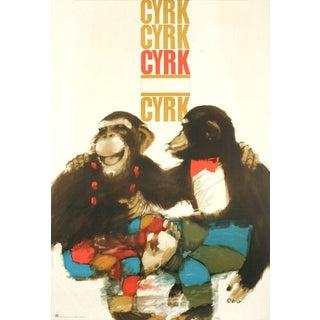 1970 Urbaniec Cyrk Poster