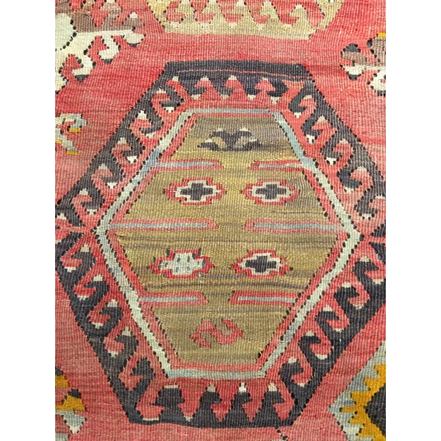 "Bellwether Rugs Vintage Turkish Kilim Rug - 8'3"" x 10'8"" - Image 6 of 11"