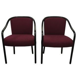 Ward Bennett Chairs - Pair