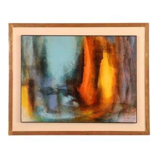 Leonardo Nierman 'Enchanted Landscape' Oil Painting