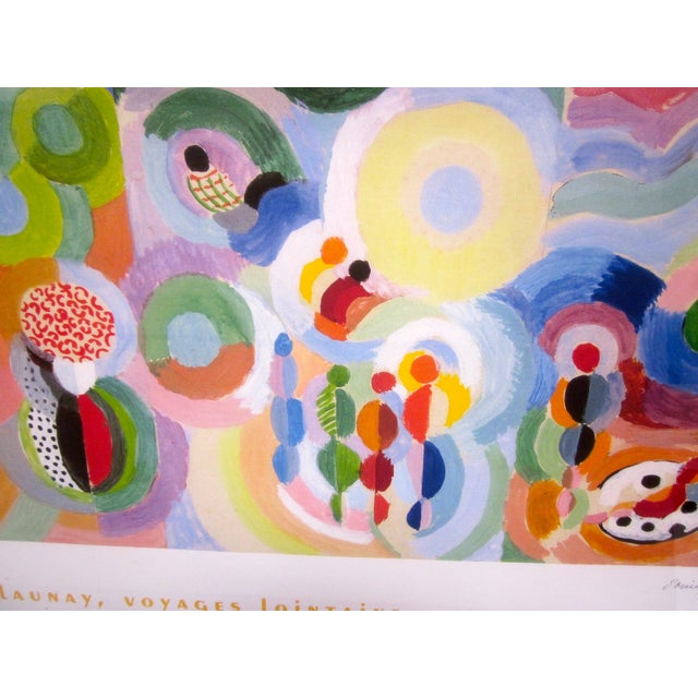 Sonia Delaunay Abstract Geometric Framed Art - Image 7 of 9
